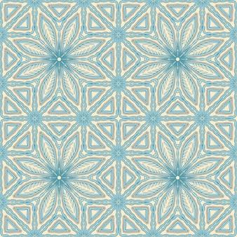 Blauw natuurpatroon