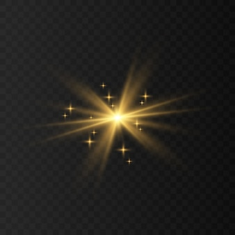 Blauw, wit, goud, oranje schittert symbolen vector. de set van originele vector sterren schitteren pictogram. helder vuurwerk, fonkelende decoratie, glanzende flits.