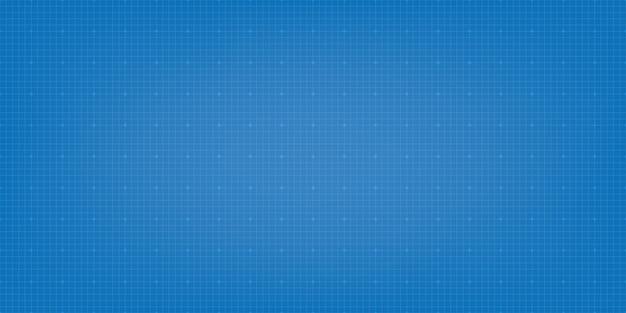 Blauwdruk digitale papier achtergrond. raster achtergrond