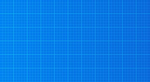 Blauwdruk papier achtergrond textuur vector illustratie technische tekening