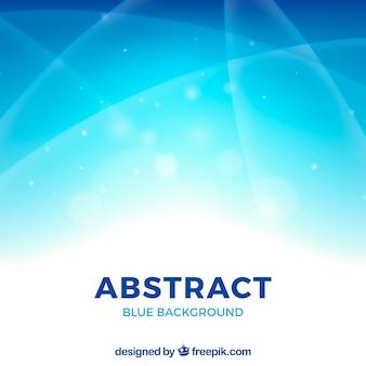 Blauwe abstracte achtergrond met elegante stijl