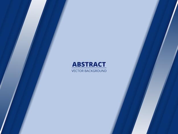 Blauwe abstracte achtergrond met karmozijnrode pepercut lijnen en schaduwen