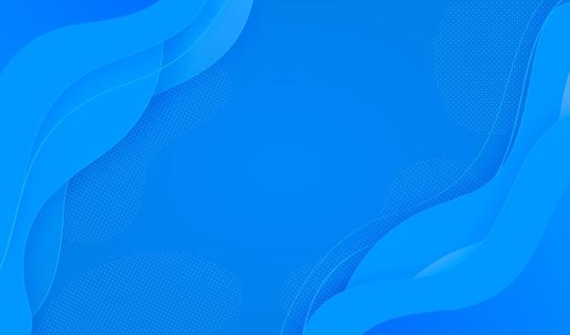 Blauwe abstracte achtergrond