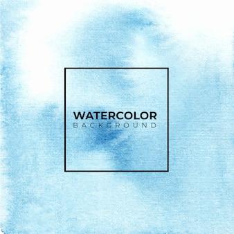 Blauwe abstracte aquarel achtergrond, kleur spatten