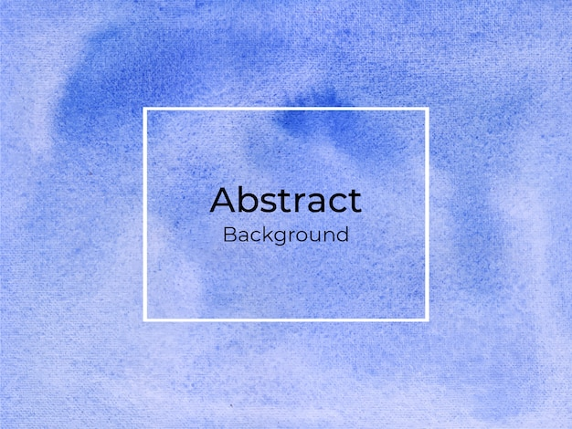 Blauwe abstracte aquarel luxe achtergrond