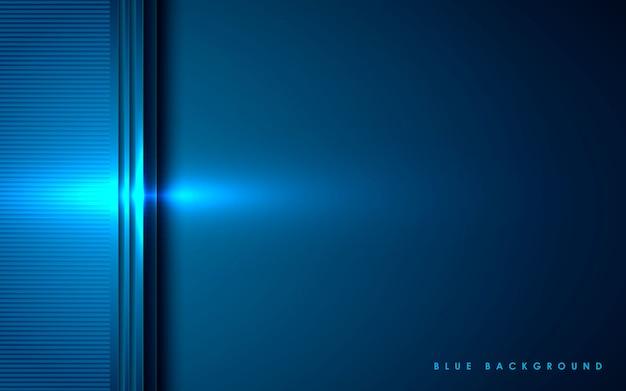 Blauwe abstracte dimensieachtergrond
