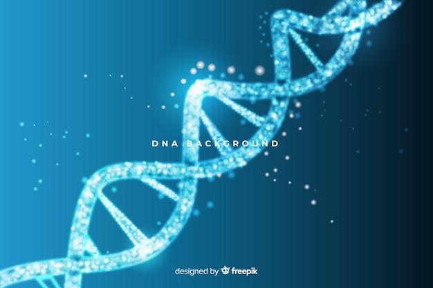 Blauwe abstracte dna-structuurachtergrond