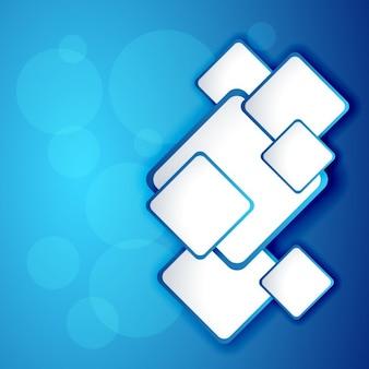Blauwe abstracte frames