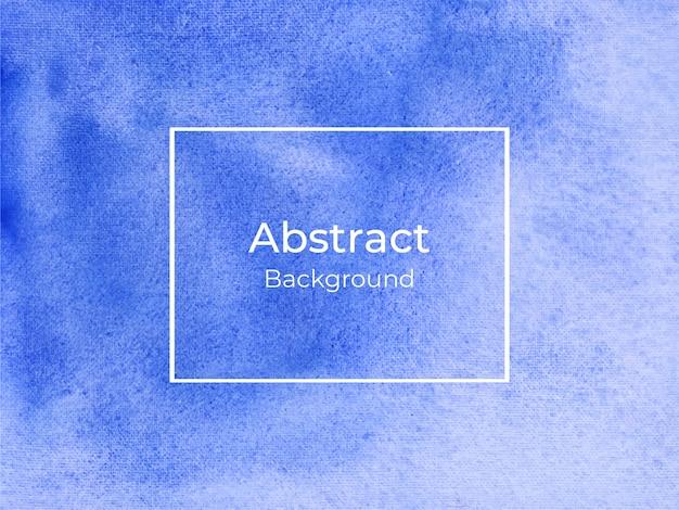 Blauwe abstracte luxe aquarel achtergrond