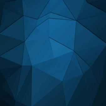 Blauwe abstracte vormen achtergrond