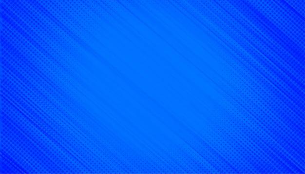 Blauwe achtergrond met halftoon diagonale lijnen