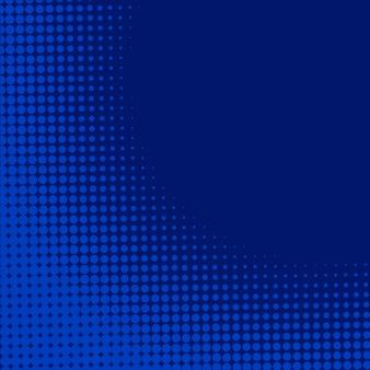 Blauwe achtergrond met halftooneffect