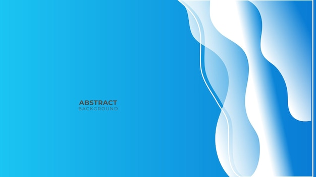 Blauwe achtergrond met modern bedrijfsconcept. papier laag cirkel blauwe abstracte achtergrond. curven en lijnen gebruiken voor banner, presentatie, omslag, poster, behang, ontwerp met ruimte voor tekst
