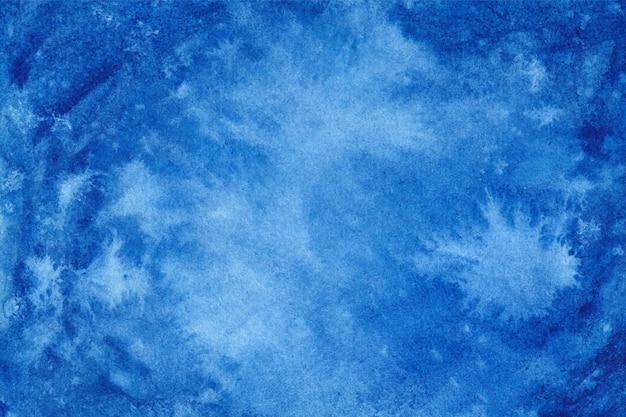 Blauwe aquarel achtergrondstructuur
