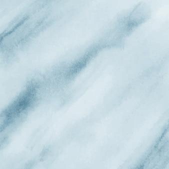 Blauwe aquarel folie achtergrond. handgeschilderde papier textuur.