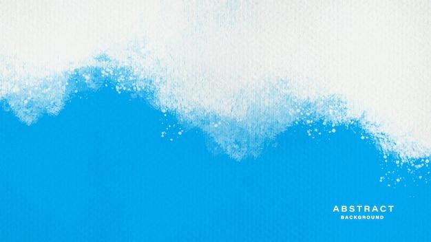 Blauwe aquarel textuur abstracte achtergrond