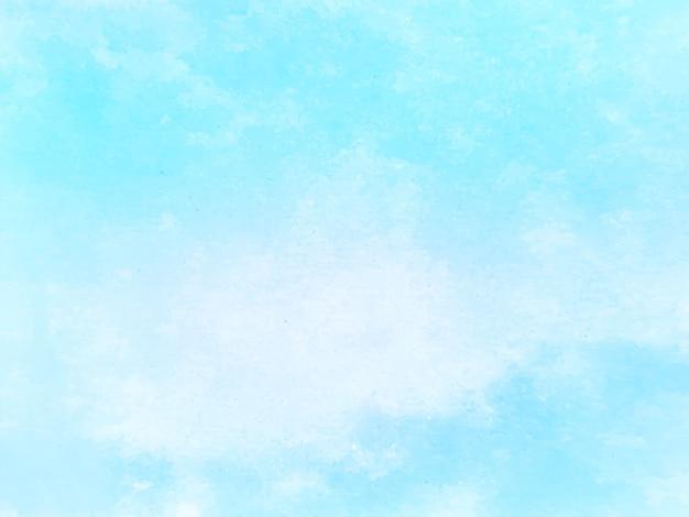 Blauwe aquarel textuur ontwerp achtergrond