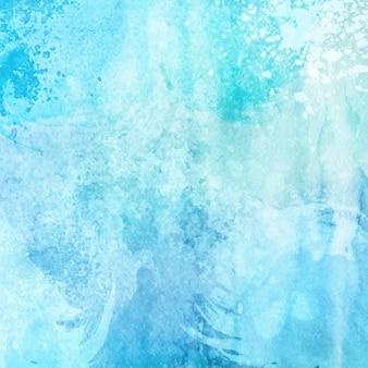 Blauwe aquarel textuur