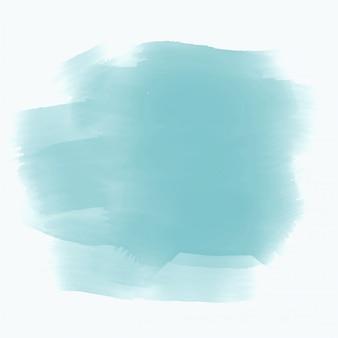Blauwe aquarel vlek effect achtergrond