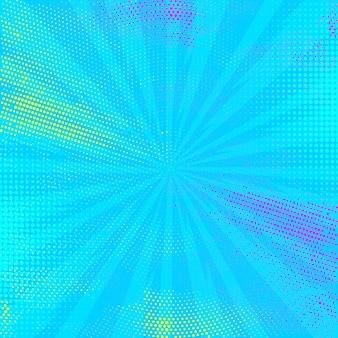 Blauwe comic page background