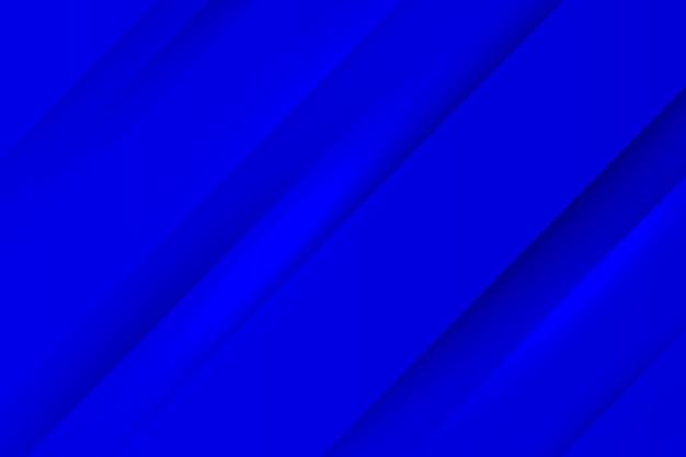 Blauwe dynamische lijnen achtergrond