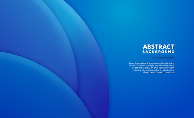 Blauwe gradiënt abstracte achtergrond