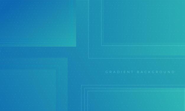 Blauwe gradiënt dynamische achtergrond moderne geometrische ontwerpsjabloon