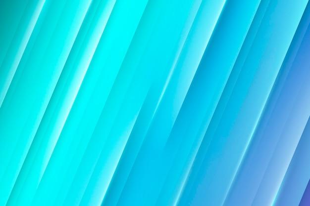 Blauwe gradiënt dynamische lijnen achtergrond