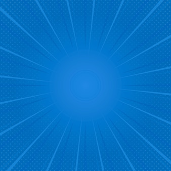 Blauwe gradiënt halftone achtergrondvector