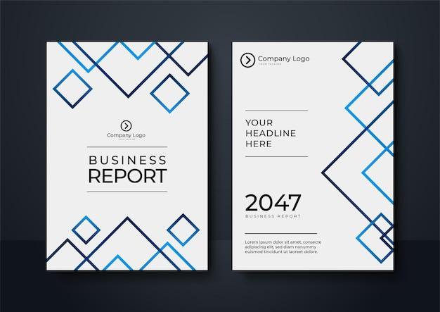 Blauwe huisstijl cover business vector design, flyer brochure reclame abstracte achtergrond, leaflet moderne poster tijdschrift lay-out sjabloon, jaarverslag voor presentatie