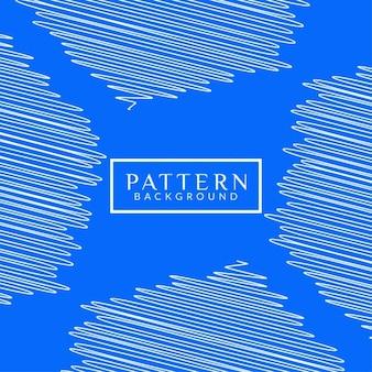 Blauwe kleur modern patroon achtergrond