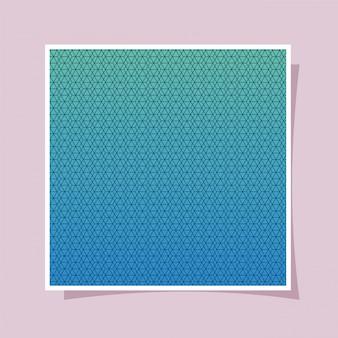 Blauwe kleurovergang en patroon achtergrond, cover ontwerp.