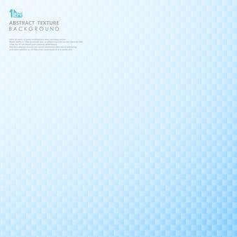 Blauwe kleurovergang vervaging vierkante geometrische achtergrond.