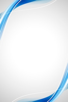 Blauwe kromme abstracte achtergrond