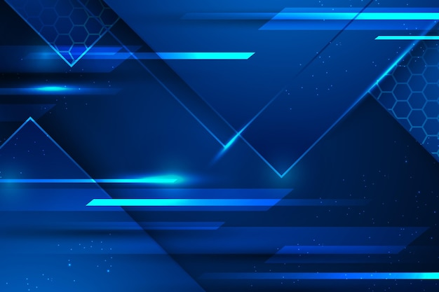 Blauwe lichtsnelheid digitale achtergrond