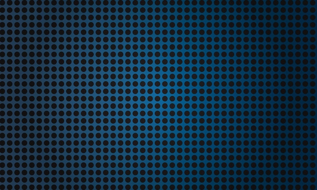 Blauwe metalen cirkelvormige vezelachtergrond