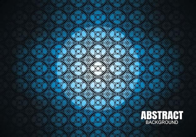 Blauwe moderne abstracte gradatie lichte achtergrond
