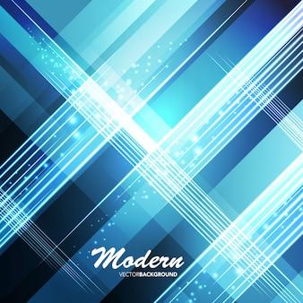 Blauwe moderne abstracte vorm achtergrond