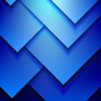 Blauwe moderne achtergrond
