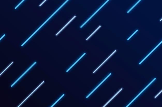 Blauwe neonlijnen achtergrond