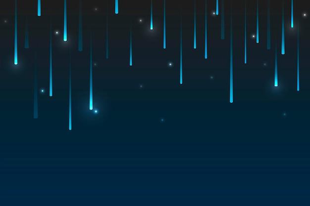 Blauwe scifi-achtergrond met geometrische patronen
