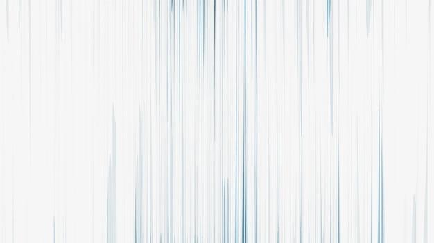 Blauwe snelheidslijnen op witte achtergrond, komisch en bewegingsconceptontwerp, vector.