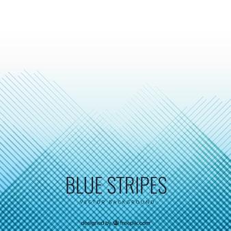 Blauwe strepen achtergrond