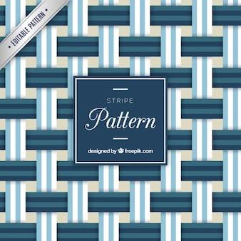 Blauwe strepen patroon