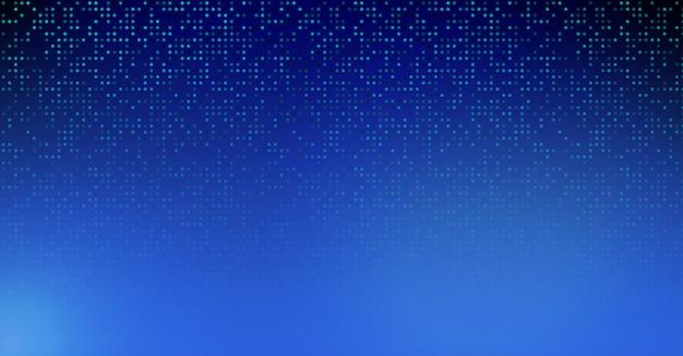Blauwe technologie vector achtergrond