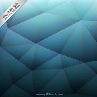 Blauwe veelhoekige achtergrond vector
