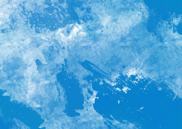 Blauwe verf textuur achtergrond