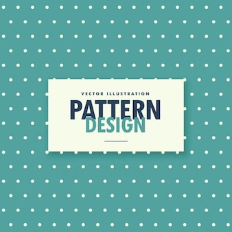 Blauwe vintage kleur polka achtergrond