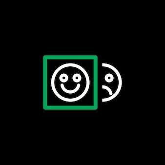 Blije en teleurstellende emoji-pictogrammen