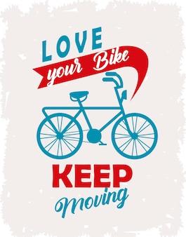 Blijf bewegen poster